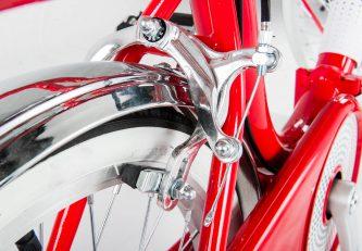 IVEL_DOLCEVITA_bici_pieghevole_rosso_e