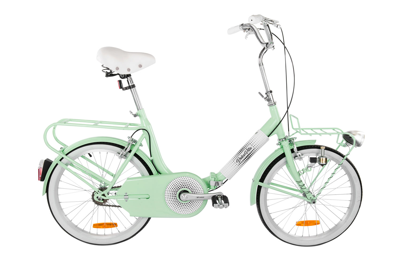 Ivel Dolcevita Verde Bici Pieghevole Ivel Bici Elettriche E Mobilità Su Due Ruote