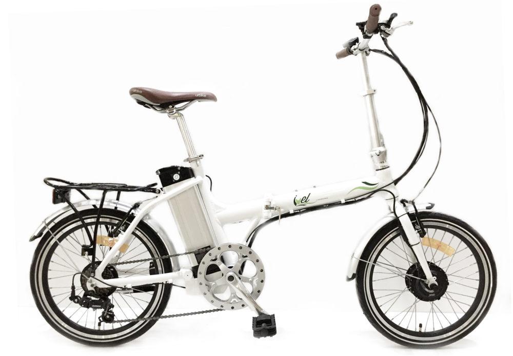 "IVEL 20"" Metro pieghevole Bianca | Bici Elettrica"